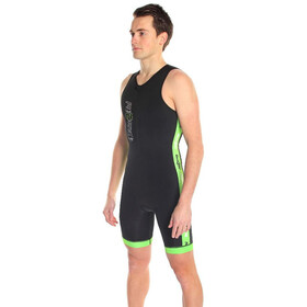 Dare2Tri Coldmax Combinaison de triathlon Homme, black/green